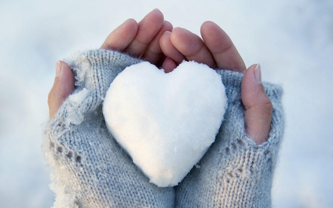 Ruce v teple